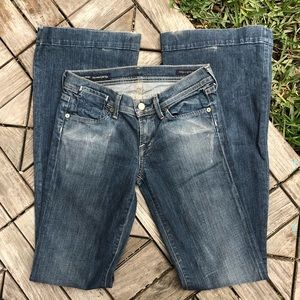 CofH Picasso #080 Full Leg Flare Jeans Size 25